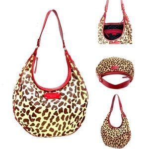 Kate Spade-New York Studded Leopard/ Shim Leather